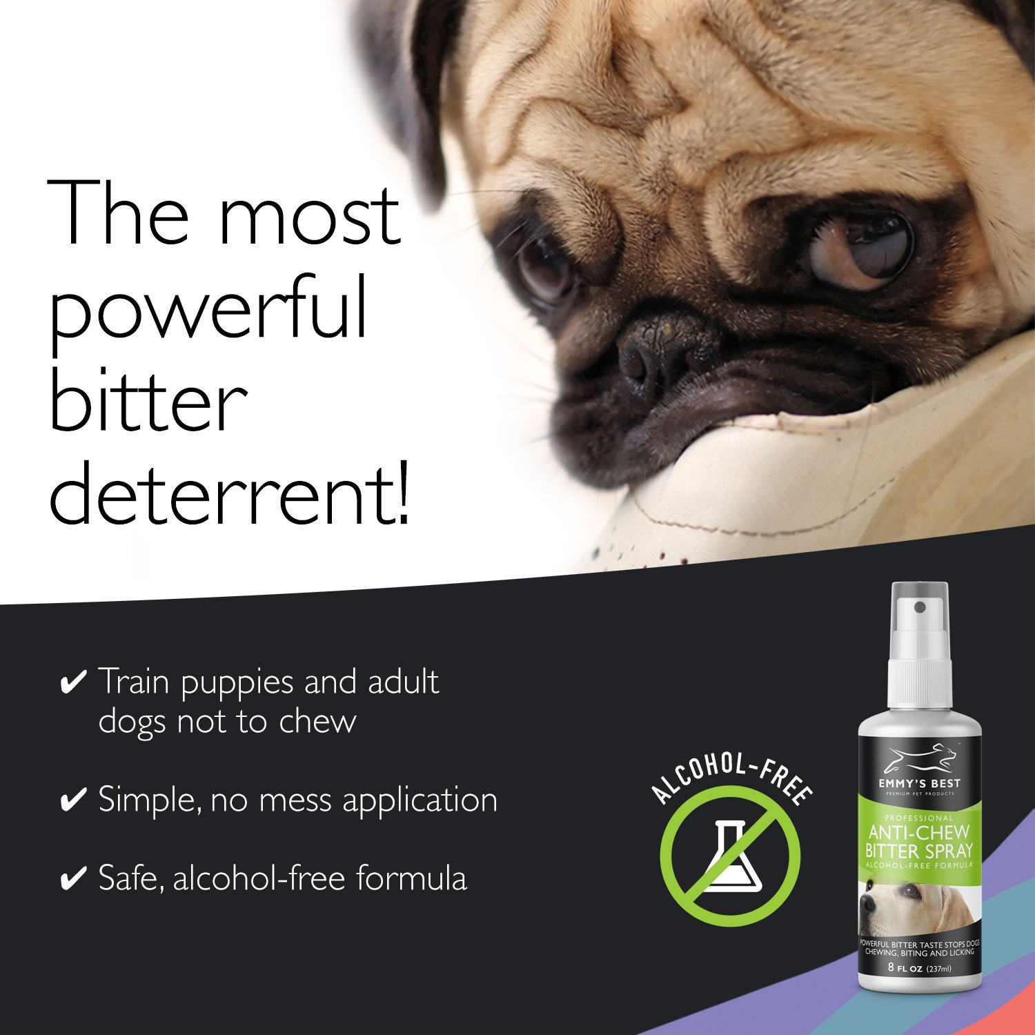 Amazon.com : Emmy\'s Best PRO Anti Chew Spray For Dogs & Puppies ...