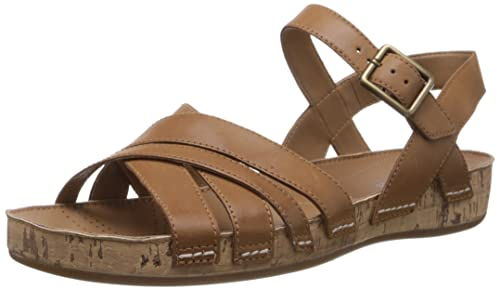 5ec76d716116 Clarks Women s Raspberry Jam Tan Leather Fashion Sandals - 4 UK  Buy ...