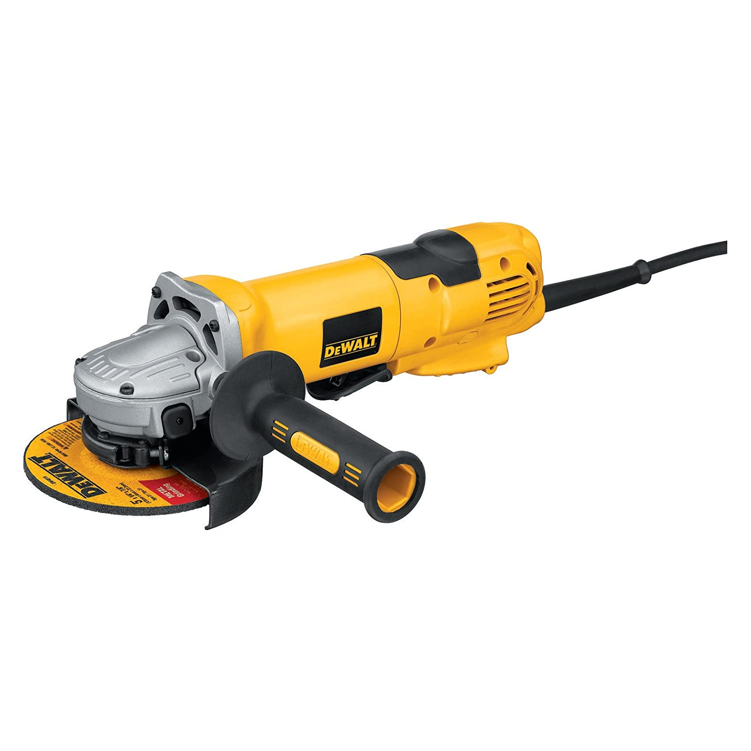 DEWALT D28144N 6-Inch High Performance Angle Grinder with No Lock-On Paddle Switch
