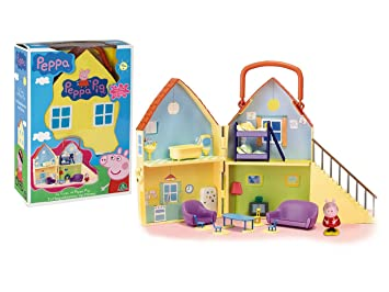 Peppa Pig House with one Figure Il Casa Di Peppa pig By Phonograph