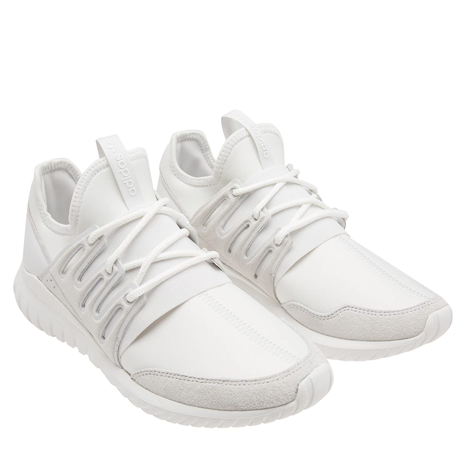 72955b1f1d0e Adidas Tubular Radial Mens in Crystal White by Adidas