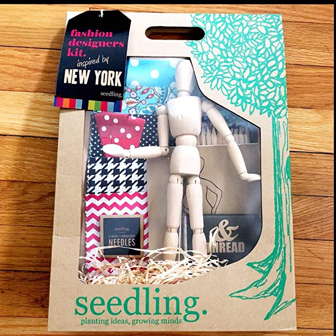 Amazon Com Seedling New York Fashion Designers Kit Toys Games