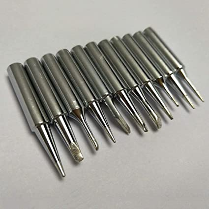 11PCS / SET Punta de hierro 900M-T de soldadura de uso duradero para herramientas