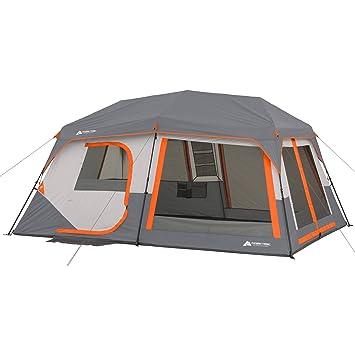 Ozark Trail instantánea tienda de cabina con construido en cabina Luces, duerme 10, 14