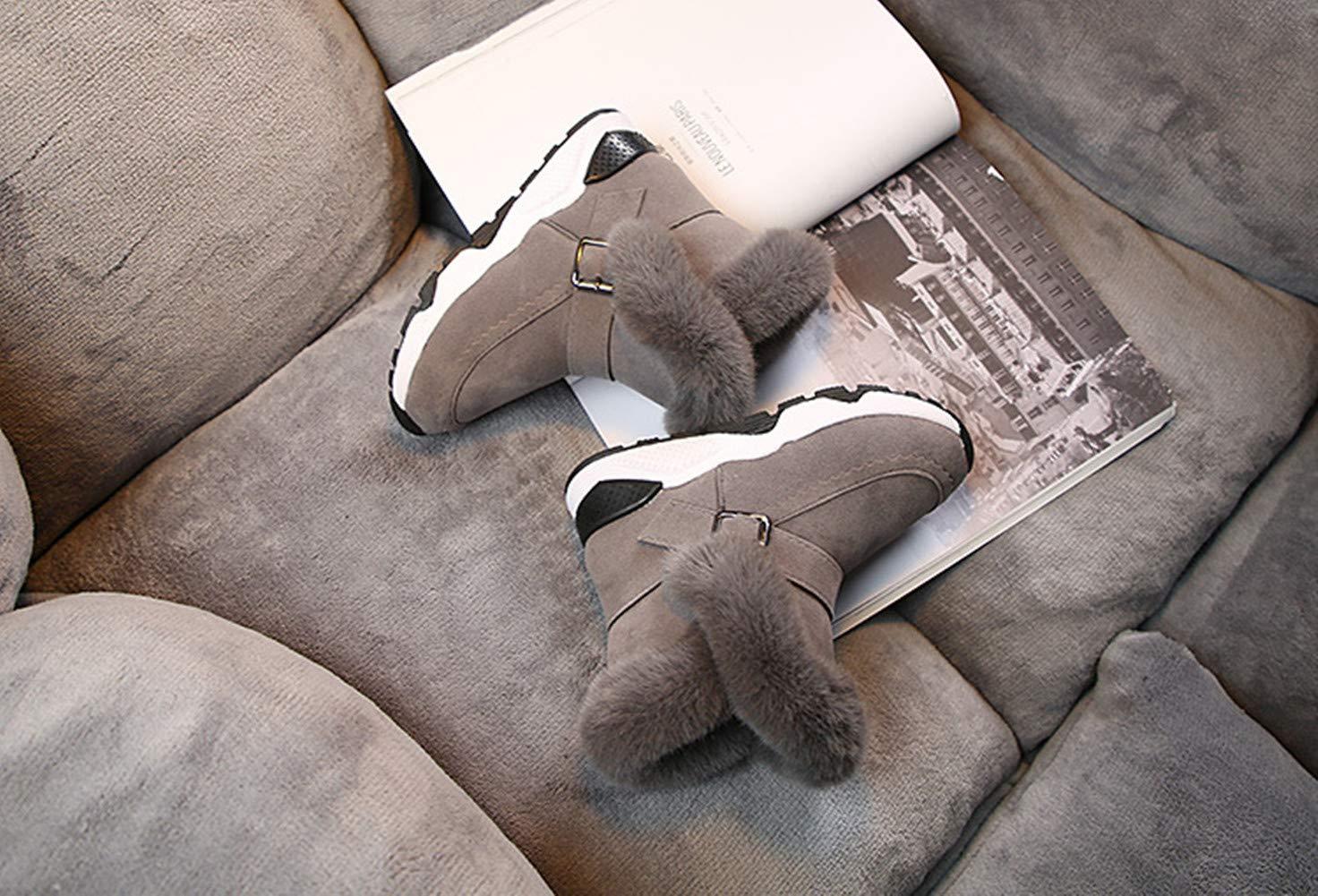 30, Grau Mode Baby Kleinkind Schuhe Stillshine Winter Dicke warme Schneeschuhe Kleinkind Junge M/ädchen Pelzstiefel