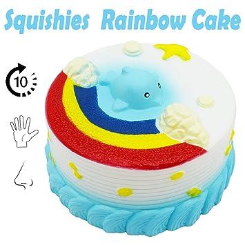 Amazon.com: Vandorla Squishies Cake, Jumbo Squishy Juguete ...