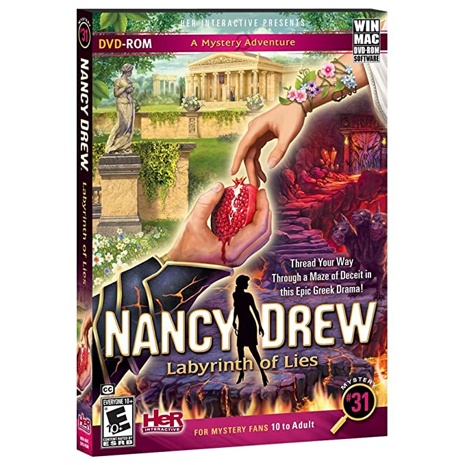 Amazon.com: Nancy Drew: Labyrinth of Lies: Software