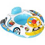 Swimmer Circle Children Float Boat Water Toys PVC Inflatable Infant Swimming Seat Ring Double Airbags Pool Float Boat…