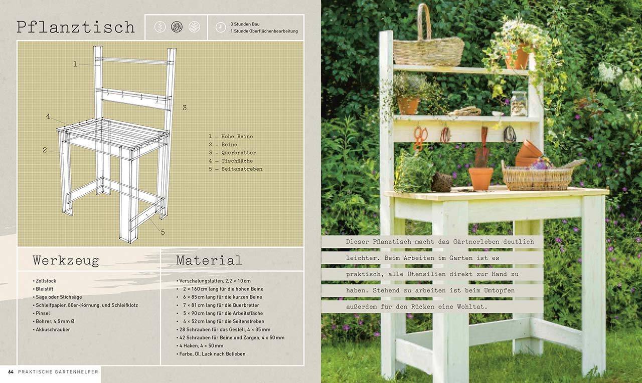 Gartenmöbel & Accessoires aus Holz selbst bauen Von