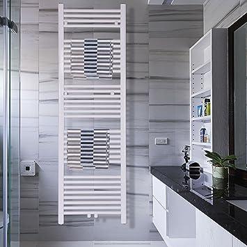 COSTWAY Handtuchwärmer Warmwasser Handtuchheizung Badheizkörper ...