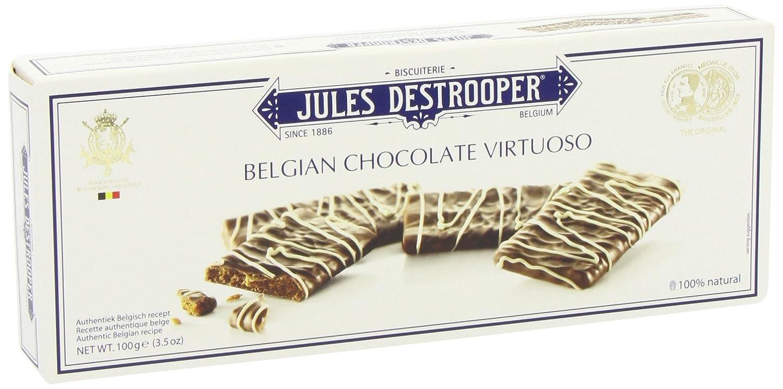 Jules Destrooper Biscuits Canela de Chocolate - 6 Paquetes de 100 gr - Total: 600 gr: Amazon.es: Alimentación y bebidas
