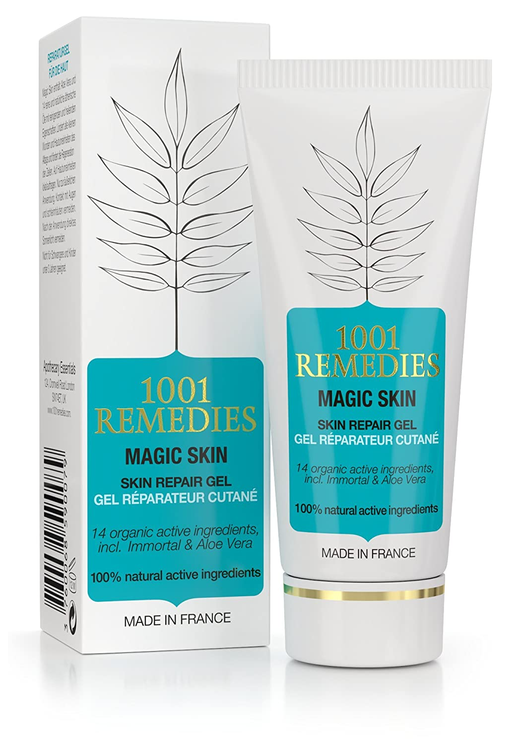 1001 Remedies Acne Spot Treatment& Dark Spot Corrector For Face - Acne Scar Remover Cream For Clean and Clear Skin - Tea Tree Oil Moisturizer for Spot, Acne, Rosacea Prone Skin - Adult, Teens