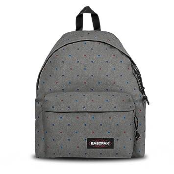 a7e5c077759 Amazon.com | Eastpak Padded Pak'r Trio Dots Backpack EK62091P Grey | Kids'  Backpacks