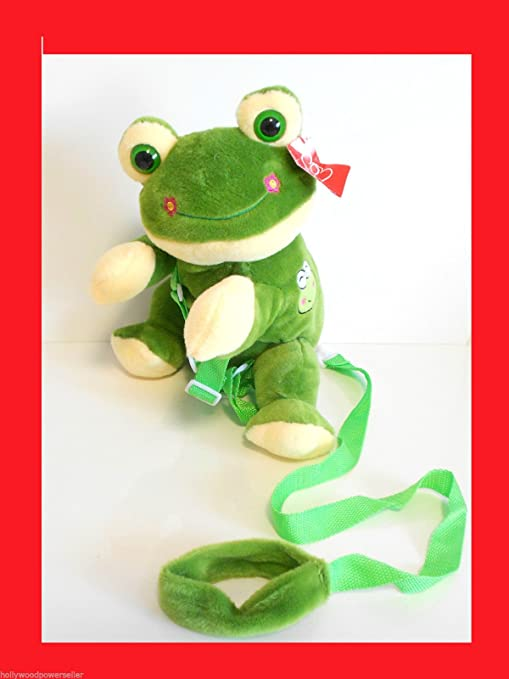 KIDS TODDLER FROG FROGGY SAFETY HARNESS LEASH BACKPACK by HARNESSPETS