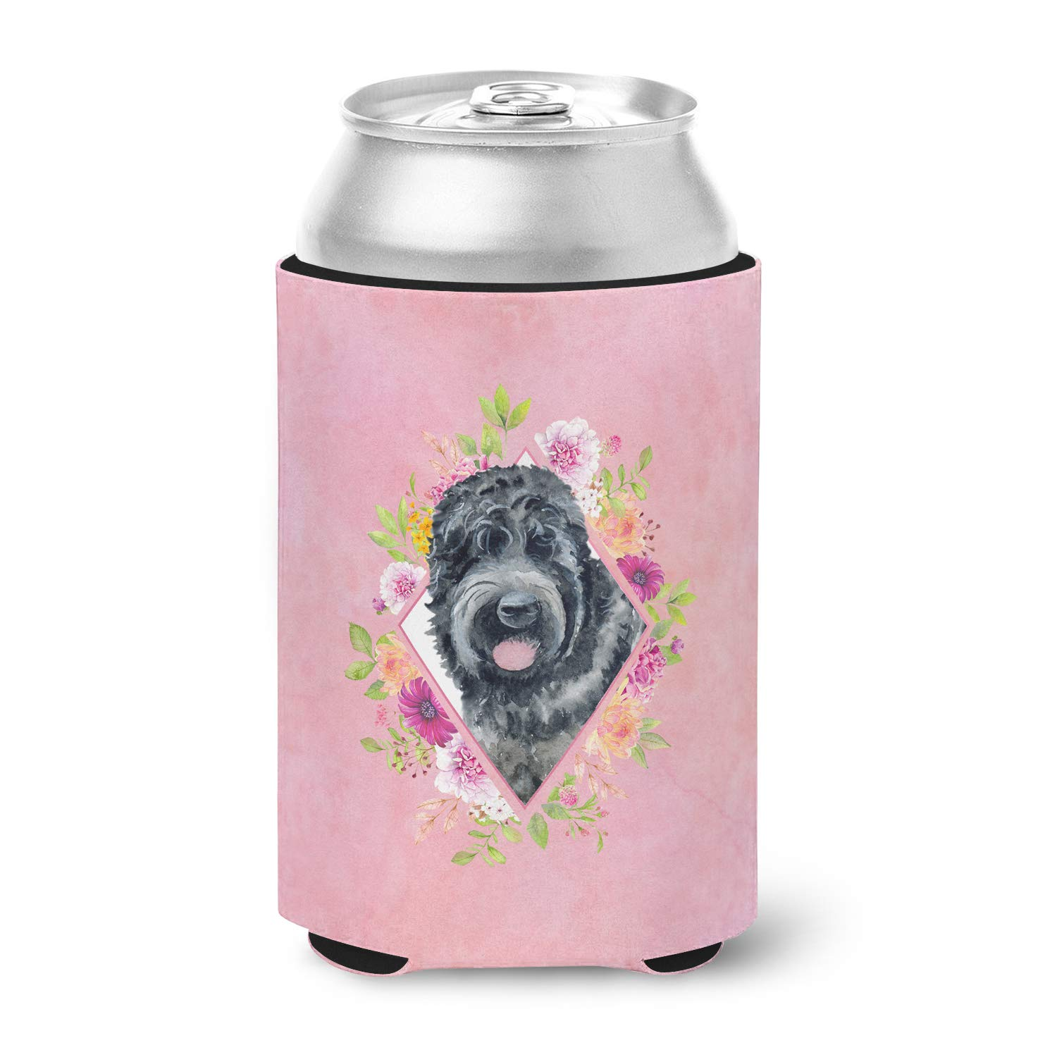 Carolines Treasures BB9677FC Black Russian Terrier Patriotic Decorative coasters Multicolor