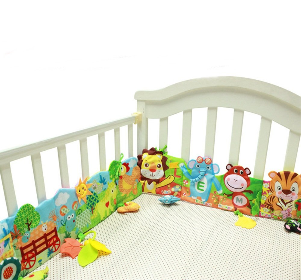 Baby bed Around And Cloth Book With Animal Model Baby Lovely Toys For Baby