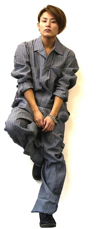 ディッキーズ つなぎ メンズ Dickies おしゃれ 長袖つなぎ ツナギ 作業着 作業服 2018 並行輸入品 B01BSOHZM2 Mサイズ|Hickory Hickory Mサイズ