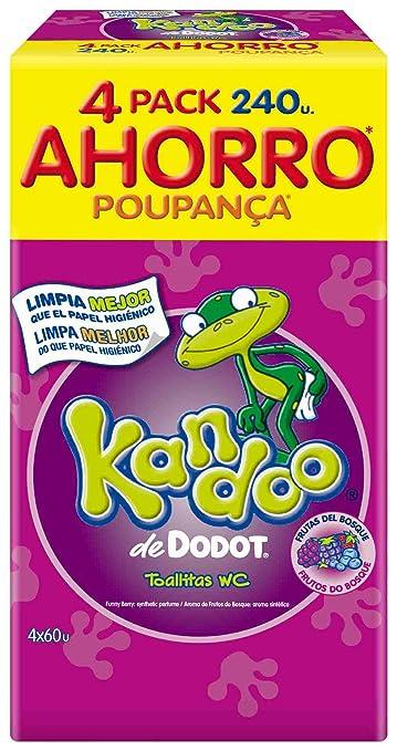 Kandoo Toallitas Húmedas Frutas Del Bosque 240 Uds