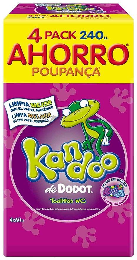 Kandoo Toallitas Frutas Bosque 6X(4X60)-Pr