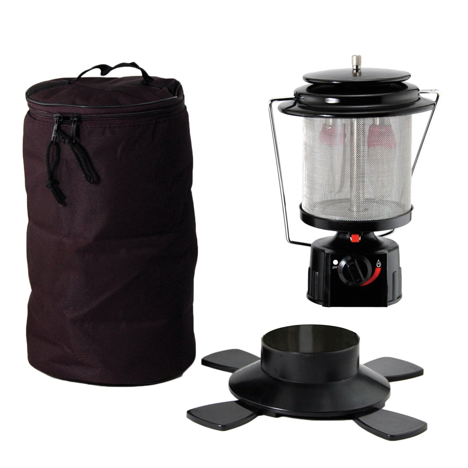 Double Double si-cle Mantle Globe Lantern w / Igniter et Soft Case 7255 B000LVH9TS