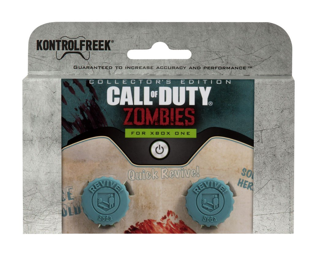 KontrolFreek Call of Duty Revive for Xbox One Controller | Performance Thumbsticks | 2 Mid-Rise Concave | Teal by KontrolFreek