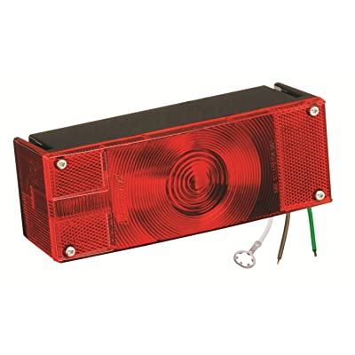 "Wesbar 403026 Waterproof Over 80"" Low Profile Trailer Light: Automotive"