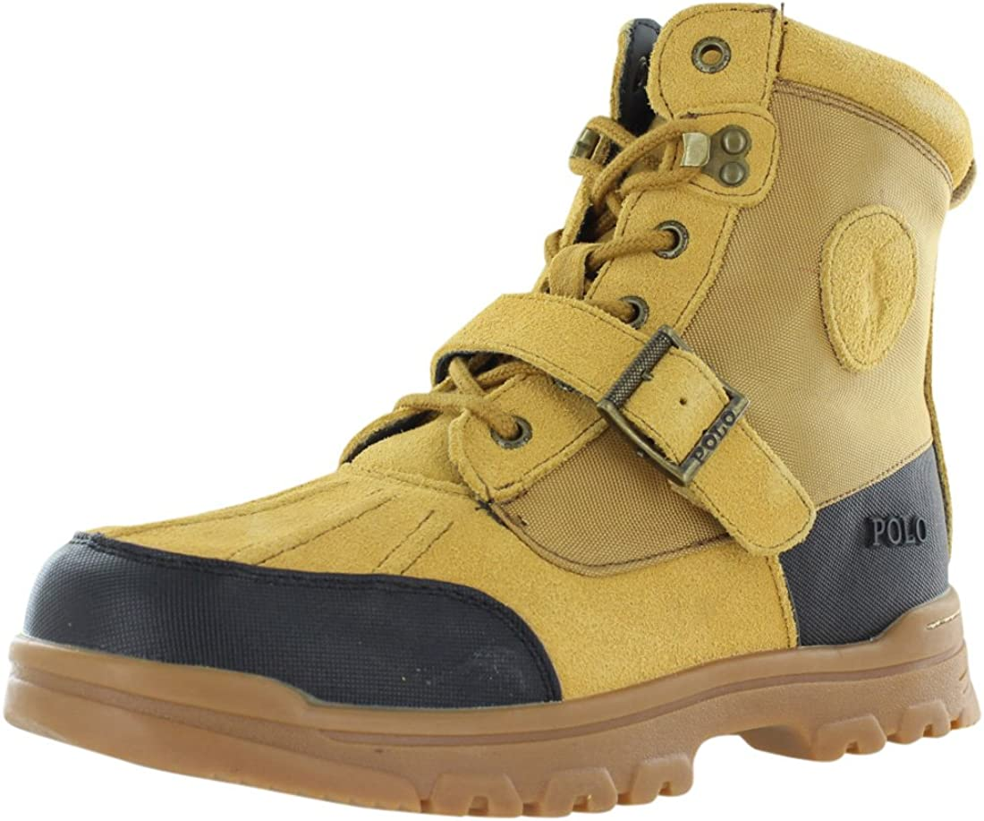 Polo Ralph Lauren Colbey Boots Boys Gradeschool Shoes Size 5