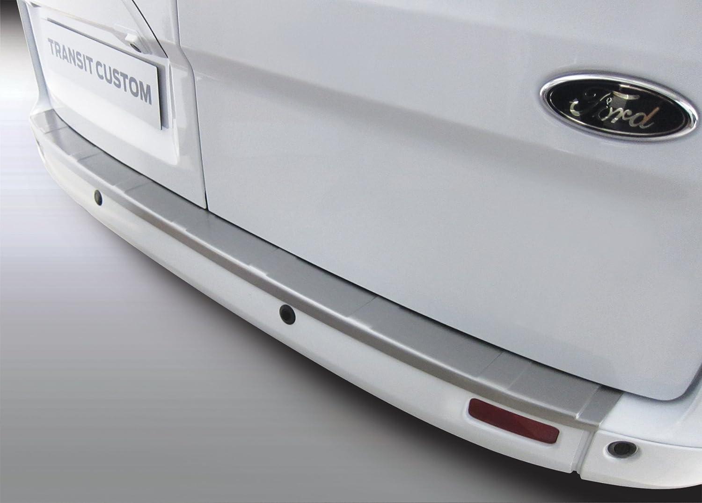 2. Generation ab BJ 04.2012 Aroba AR775 Ladekantenschutz kompatibel f/ür Ford Transit Custom und Tourneo Custom Sto/ßstangenschutz passgenau mit Abkantung ABS Farbe schwarz geriffelte Ausf/ührung