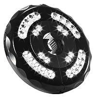 Lampe Sans Fil 28Led Spot Lumineux de Parasol, Batterie Intergre et Rechargeable, 2 Mode Luminosite pour Terrasse, Jardin,Grand Parapluie