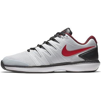 Nike Chaussures de Tennis air Zoom Prestige HC aa8020 016 blanc 42