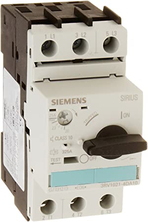 Siemens 3rv1021 4da10 Circuit Breaker Size S0 For Motor Protection Class 10 20 25a N Rel 325a Screw Terminal Standard Switching Capacity White Amazon Co Uk Diy Tools