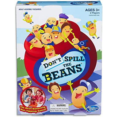 Hasbro Gaming Don't Spill The Beans Game: Toys & Games