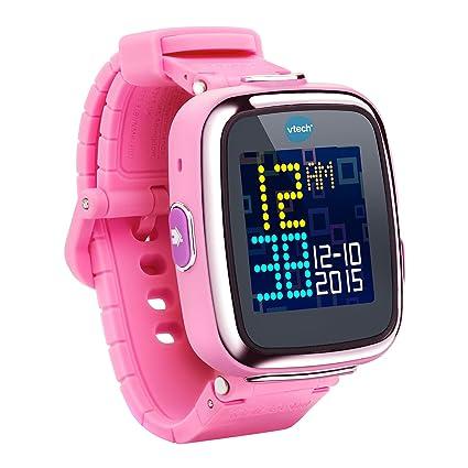 VTech Kidizoom Smartwatch - electrónica para niños (Kids smartwatch, Rosa, A Prueba de Salpicaduras, Sensor, 5 año(s), 12 año(s)) (versión en alemán)