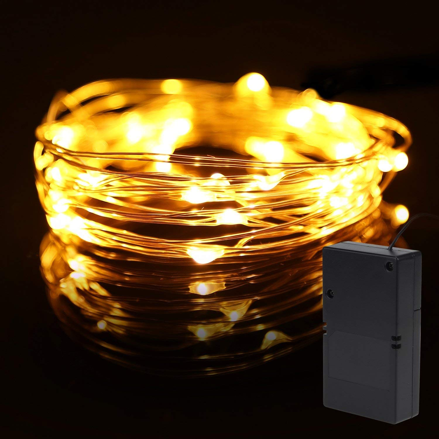 Silver Wire LED Starry Lights 5m//10m Fairy Festival Nights 5V USB Powered AE60