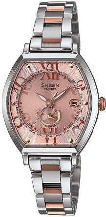 200d4c246d Amazon   [カシオ]CASIO 腕時計 SHEEN Voyage Series 世界6局電波対応 ...