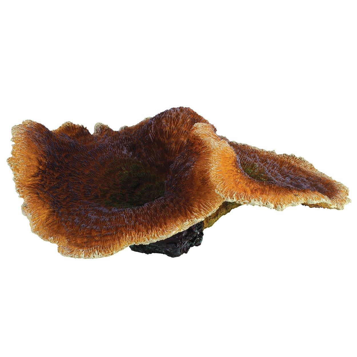 Underwater Treasures 74412 Pimpled Brown Mushroom Coral by Underwater Treasures