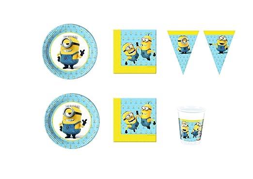 CDC - Kit n° 25 para fiesta de cumpleaños con personajes de ...