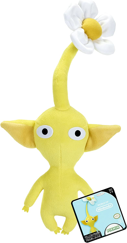 Amazon Com Nintendo World Of Nintendo Plush Yellow Pikmin Toys