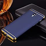Xorb 3In1 Hybrid Hard Electroplating Case For Oneplus 3, Blue