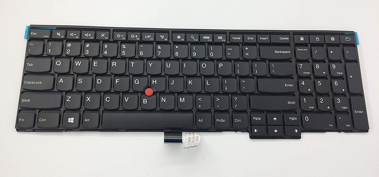 US Layout Keyboard for Lenovo Thinkpad L540 P50s T540p T550 T560 W540 W541 W550s Compatible 04Y2360 04Y2416 04Y2429 04Y2452 04Y2468 04Y2476 04Y2477 0C44916