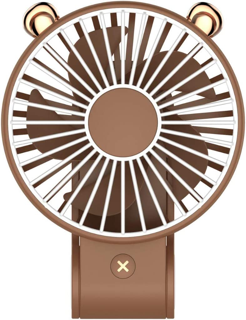 Yamart Small Portable Mini Handheld Fan Personal USB Desk Table Desktop Cooling Fan with 3 Speed Electric Cooling for Women Kids Home Office Outdoor Travel Camping Makeup