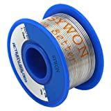 """Sywon 60-40 Tin Lead Rosin Core Solder Wire 0.039"""" 50g for Electrical Soldering and DIYs"""