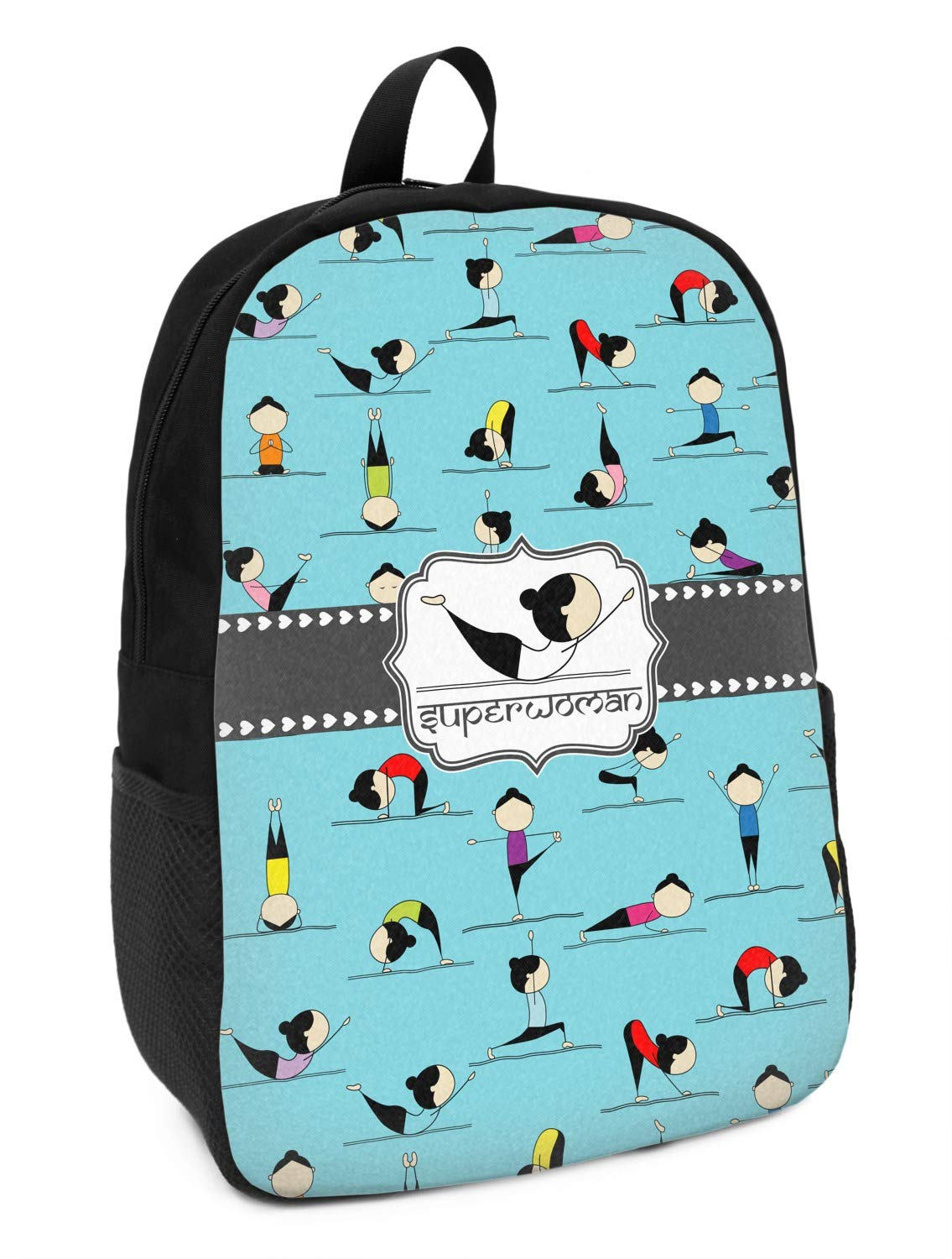 Yoga Poses Kids Backpack Personalized