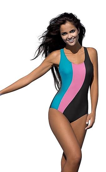 LORIN Femme Intersport Costume Maillot de Bain  Amazon.fr  Vêtements ... e8bdeaf7c1a
