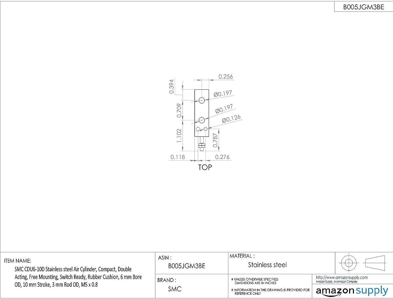 Pack of 12 0.125 Cutting Diameter 1.25 Length KEO 55080-TiN 6FLT Countersink HSS TiN Coating 1.25 Cutting Length 1//8 110 Degree Cutting Angle 1//8 Shank Diameter