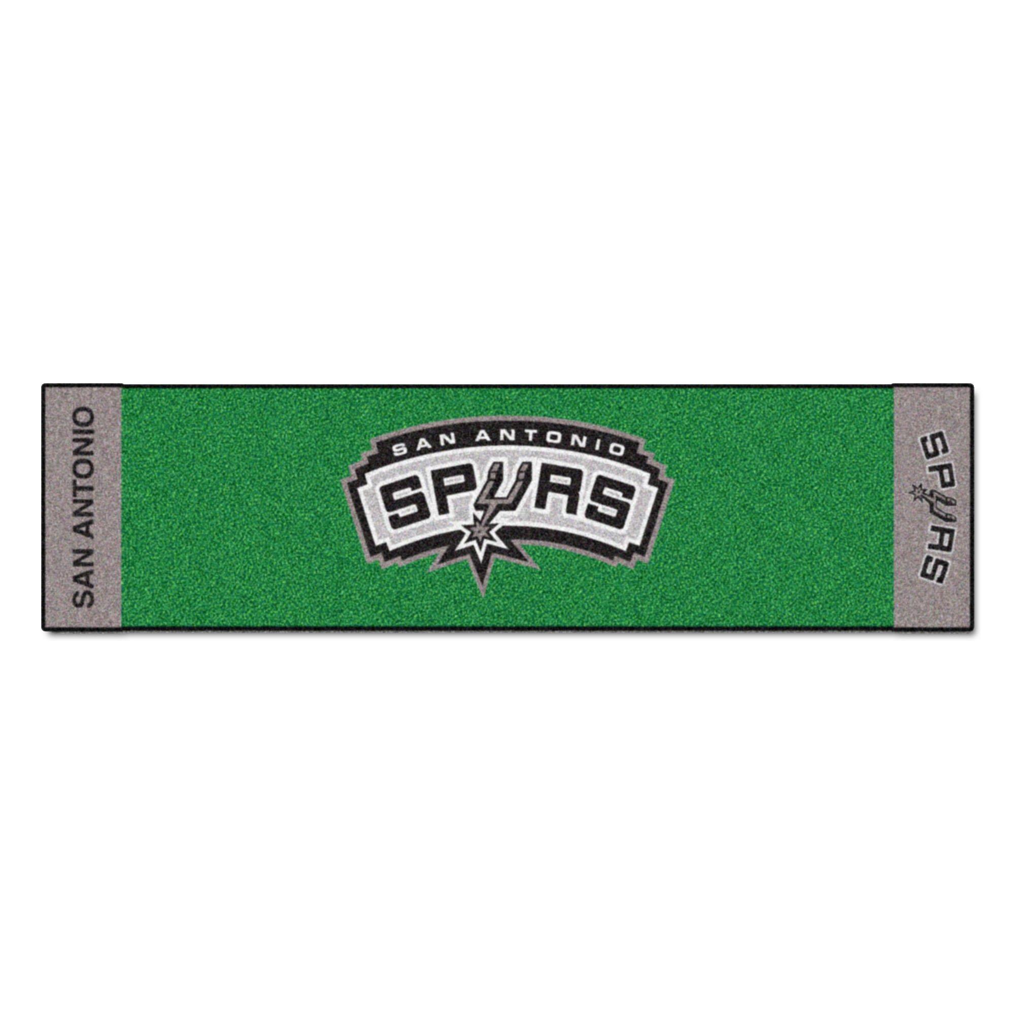 Fanmats NBA San Antonio Spurs Nylon Face Putting Green Mat