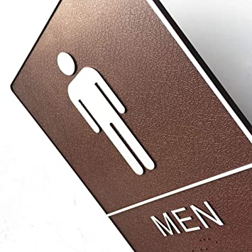 Amazon.com: Pegatina autoadhesiva para letreros de inodoro ...