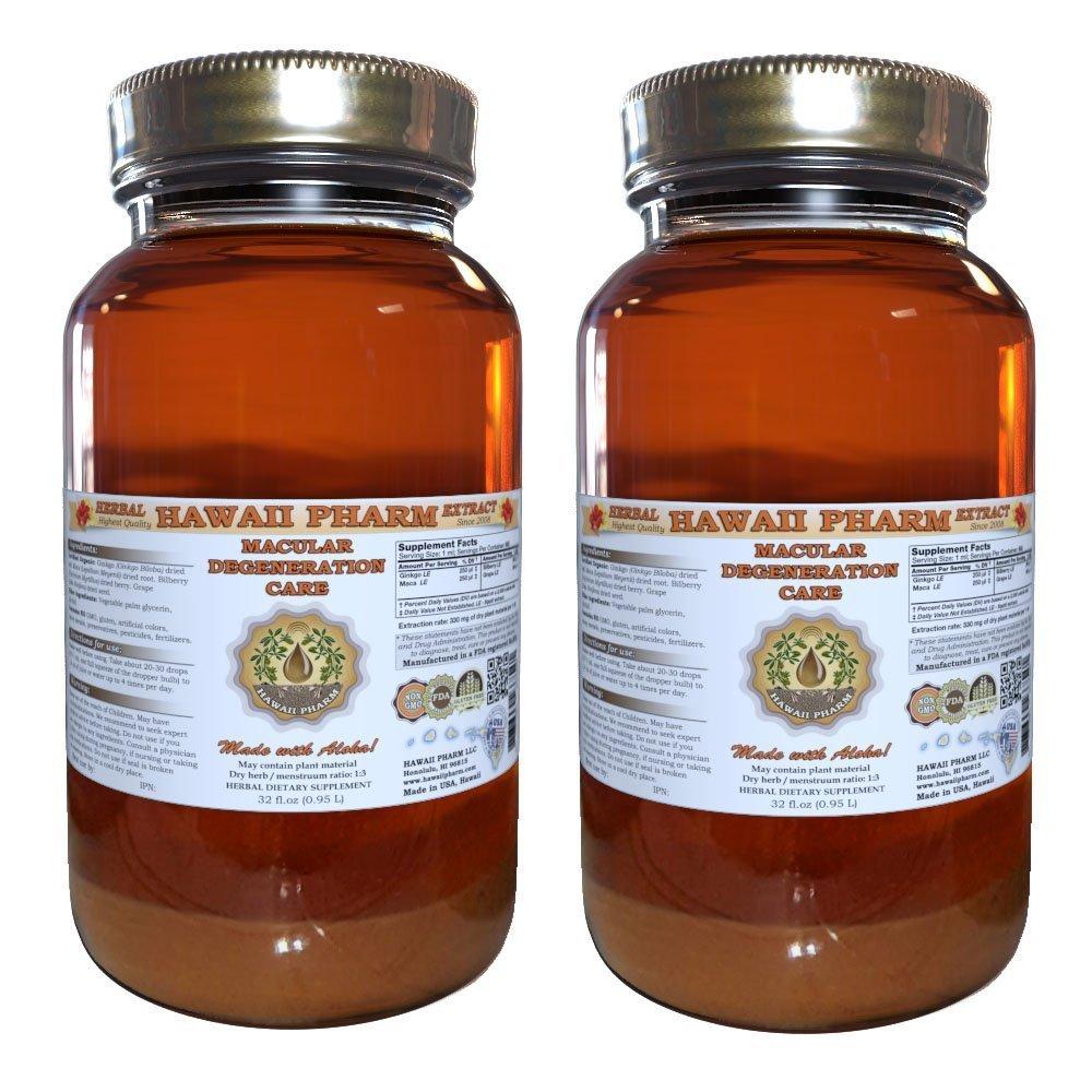 Macular Degeneration Care Liquid Extract Herbal Dietary Supplement 2x32 oz
