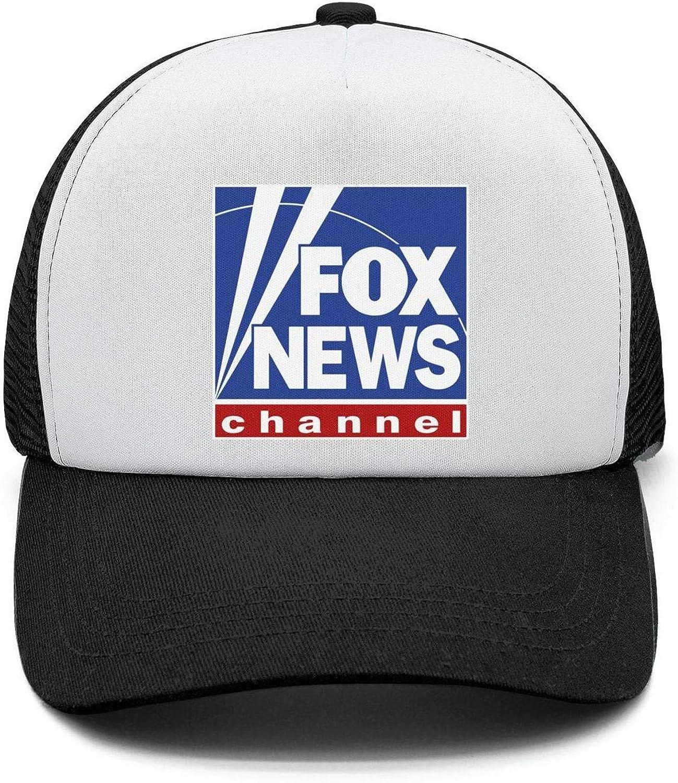 Fox News Channel Logo Flat Bill Snapback All Cotton Adjustable Fits Flat
