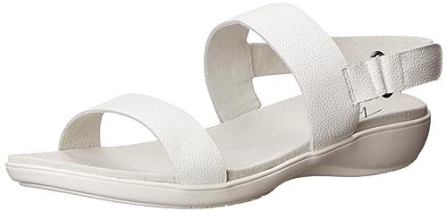 Trotters Women's Gina Gladiator Sandal, White, ...